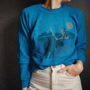 """Vintage Hanes """"Maine"""" Sweatshirt"""
